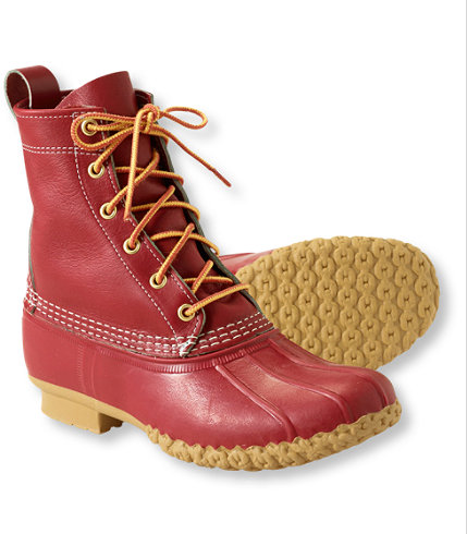"L.L. Beam ""8"" Special Edition Red"" via L.L. Bean"