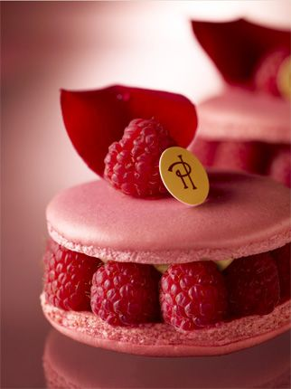 Raspberry Macaron via Pierre Herme