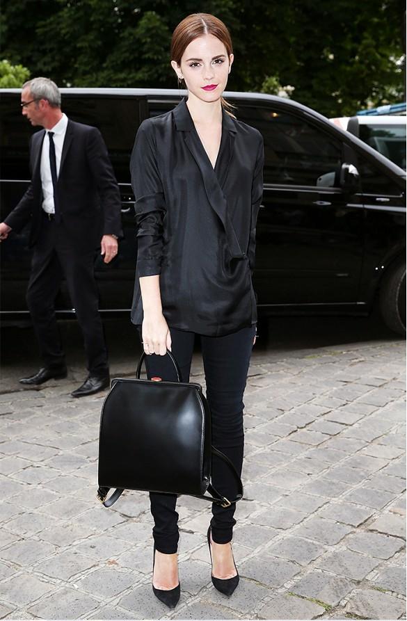 Monochrome Emma Watson