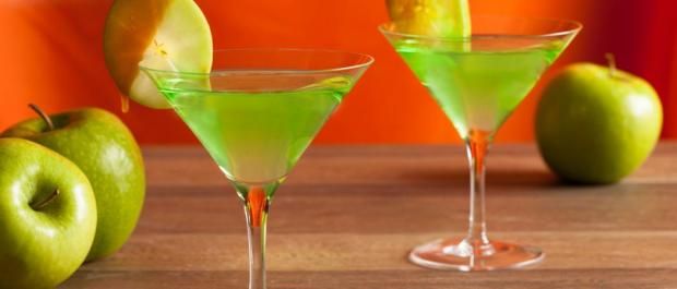 caramel apple martini
