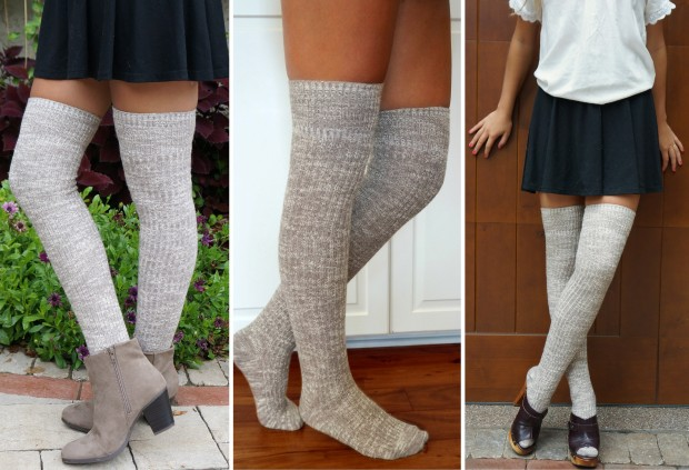 Boottique_Heathered_Oatmeal_Thick_Boot_Socks